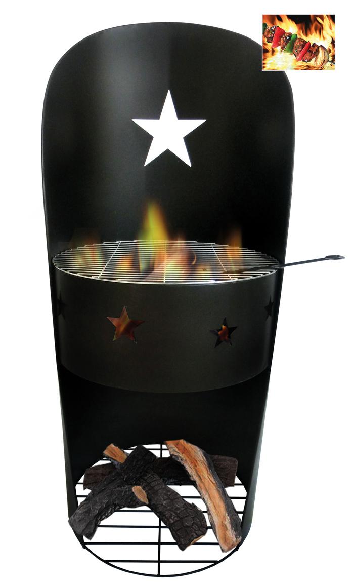 <BIG><B>Ralf feu ouvert de terrasse BBQ </B></BIG>