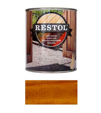 <BIG><B>RESTOL HOUTOLIE BRUIN NATUREL (1 liter)</B></BIG>