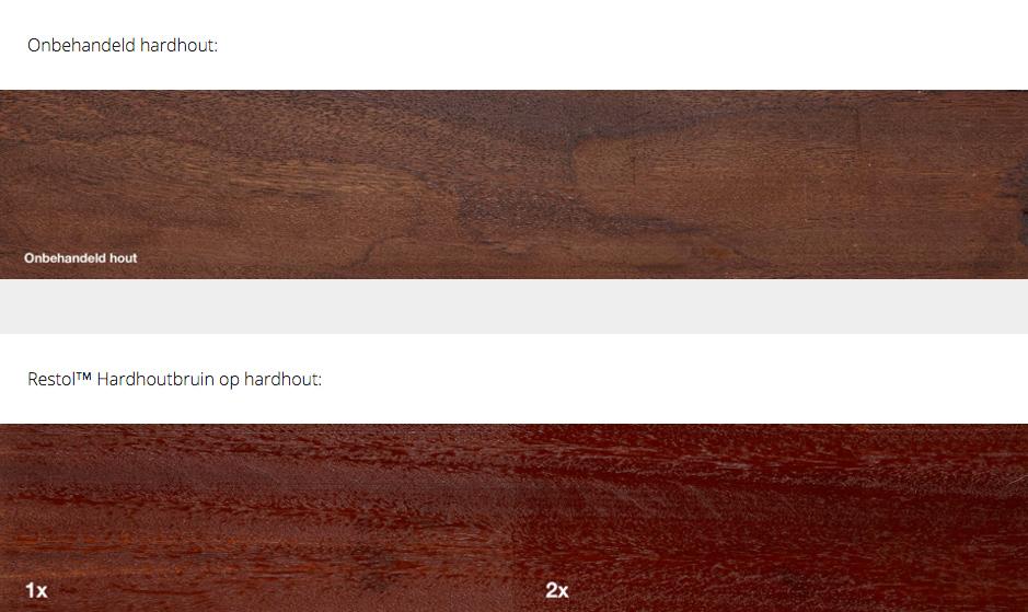 RESTOL Holzöl hartholz braun (1 liter)
