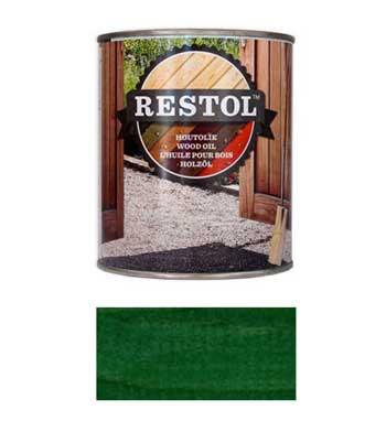 <BIG><B>RESTOL HOUTOLIE PIJNGROEN (1 liter)</B></BIG>