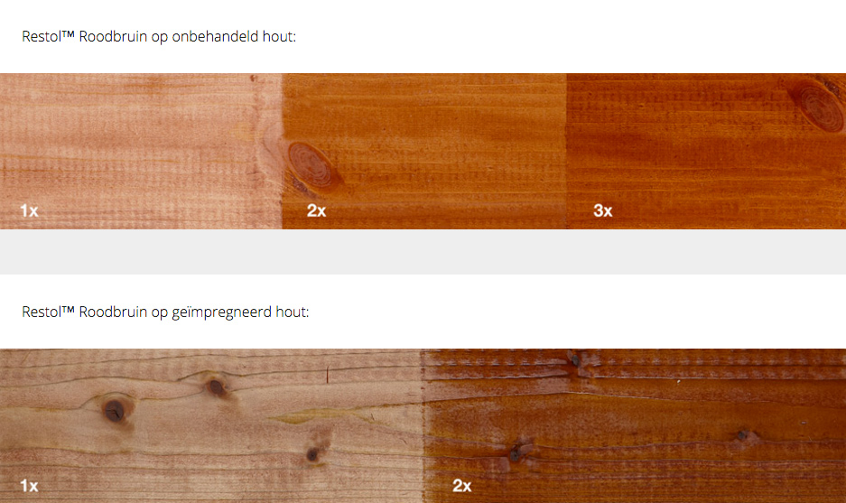 RESTOL Holzöl rotbraun (1 liter)