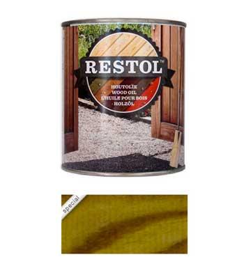 <BIG><B>RESTOL HOUTOLIE TUINHOUTGROEN (1 liter)</B></BIG>