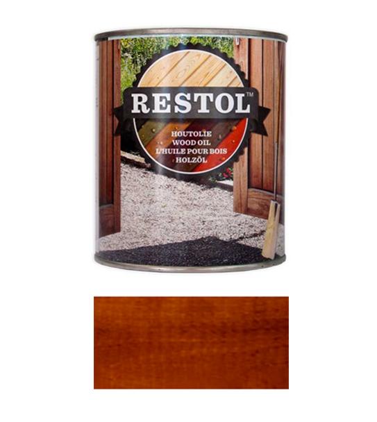 <BIG><B>RESTOL HOUTOLIE BRUIN (1 liter)</B></BIG>