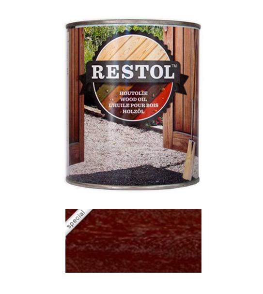 <BIG><B>RESTOL HOUTOLIE HARDHOUTBRUIN (1 liter)</B></BIG>