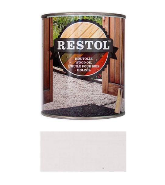 <BIG><B>RESTOL HOUTOLIE IJSLANDWIT (1 liter)</B></BIG>