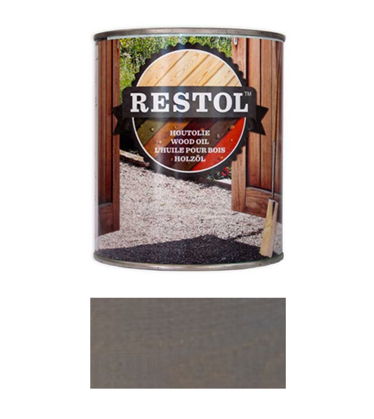 <BIG><B>RESTOL Huile de bois gris clair (1 litre)</B></BIG>