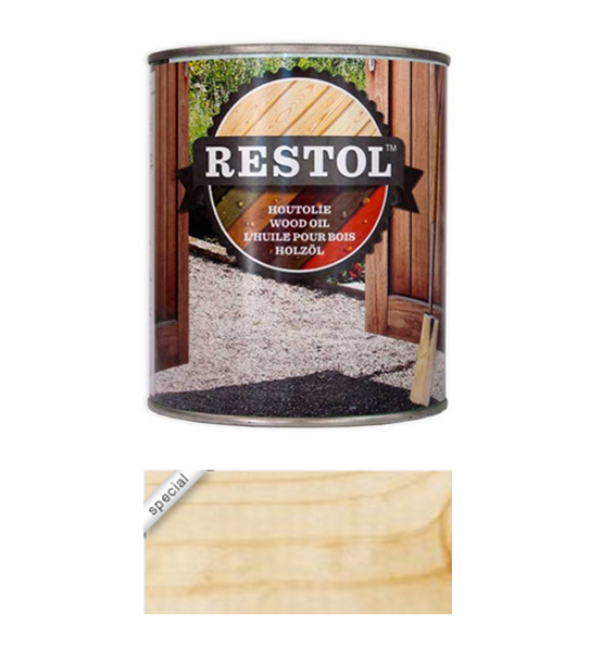 <BIG><B>RESTOL HOUTOLIE NATUREL UV EXTRA (1 liter)</B></BIG>