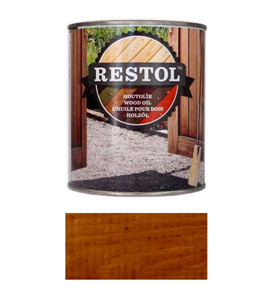 <BIG><B>RESTOL HOUTOLIE NOTENBRUIN (1 liter)</B></BIG>