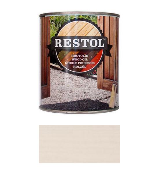 <BIG><B>RESTOL HOUTOLIE PARELWIT (1 liter)</B></BIG>