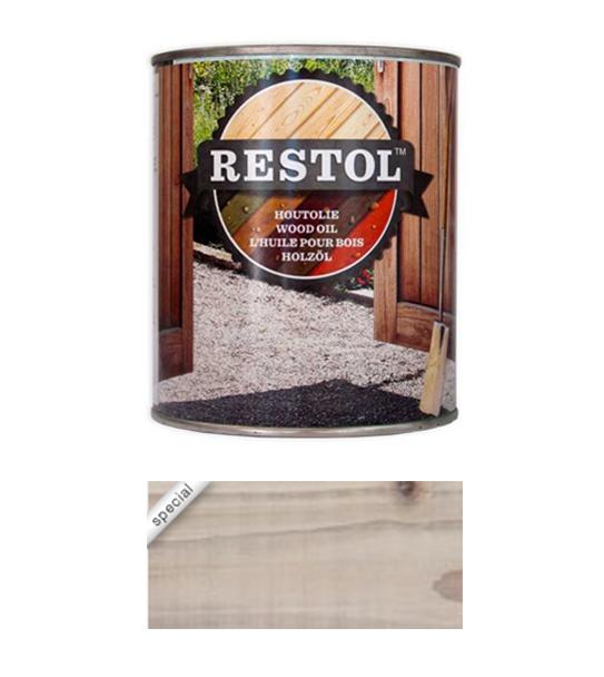 <BIG><B>RESTOL HOUTOLIE WHITE WASH (1 liter)</B></BIG>