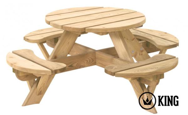 Runde Picknick Tisch Kinder