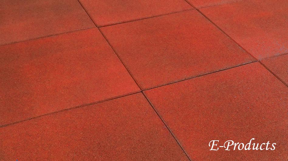 <BIG><B>rubber tegels rood</B></BIG>
