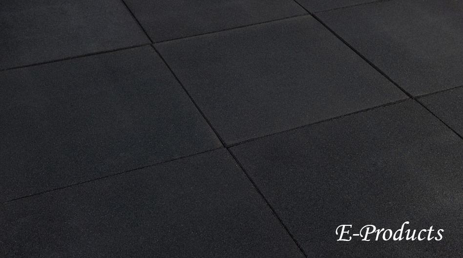 <BIG><B>Rubber tegels zwart</B></BIG>