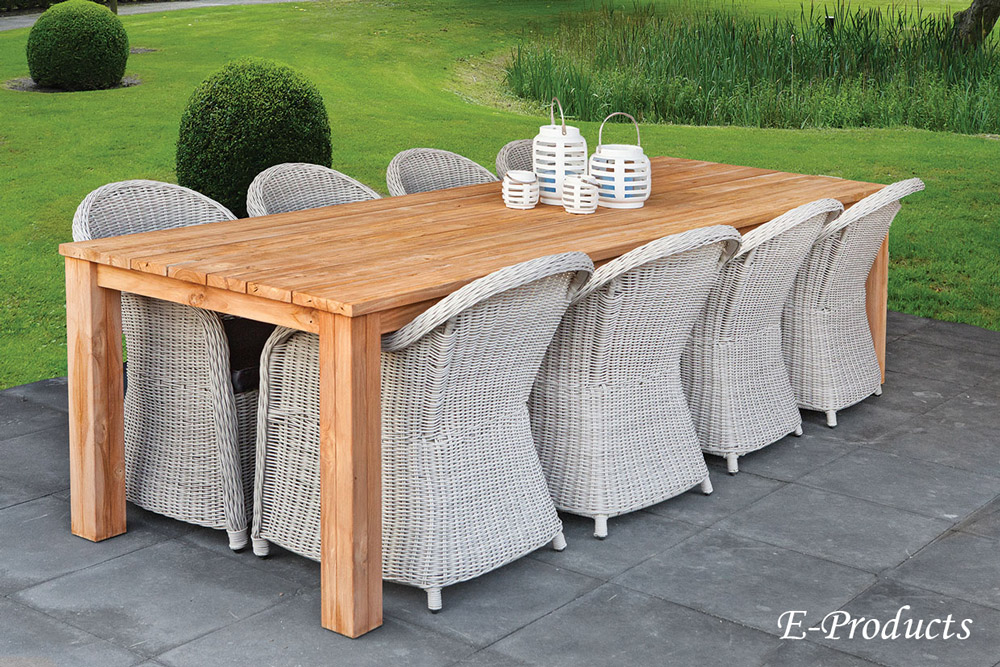 <BIG><B>Table rustique (300 x 100 cm)</B></BIG>