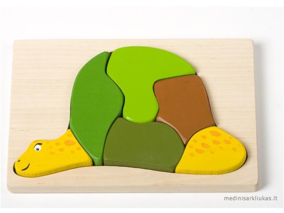 Schildpad-puzzel