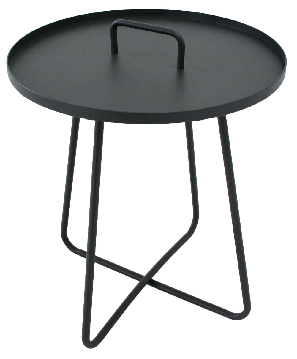 <BIG><B>Table de service Jennifer anthracite</B></BIG>