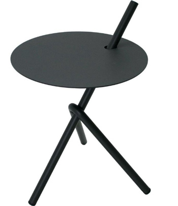 <BIG><B>Table d\'appoint Stella anthracite</B></BIG>