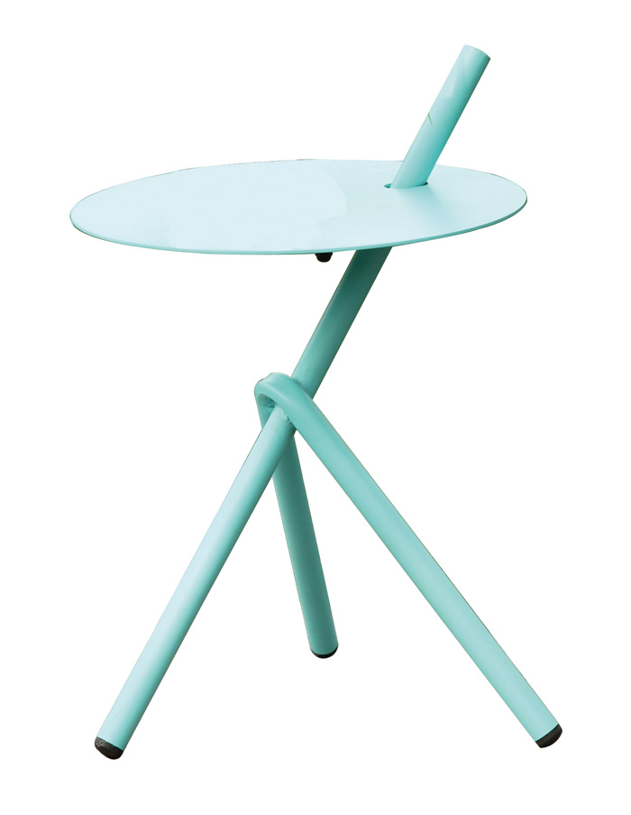 Table d'appoint Stella bleu