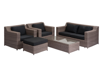<BIG><B>Wicker loungeset Sydney</B></BIG>