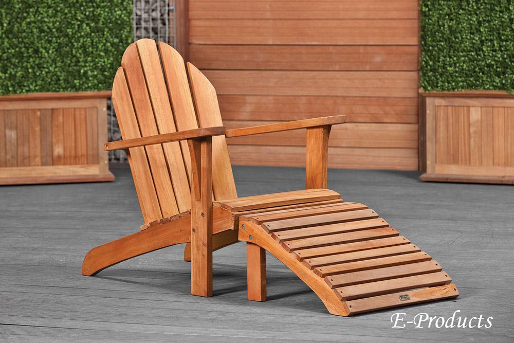 <BIG><B>Chaise relax en bois dur</B></BIG>