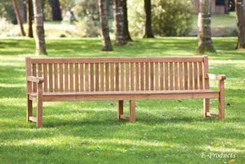 <BIG><B>Banc-de-jardin-en-teck-a-3-pieds-210x91-Bretagne (épaisseur des pieds: 4 cm)</B></BIG>