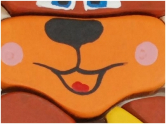 Teddybeer-puzzel