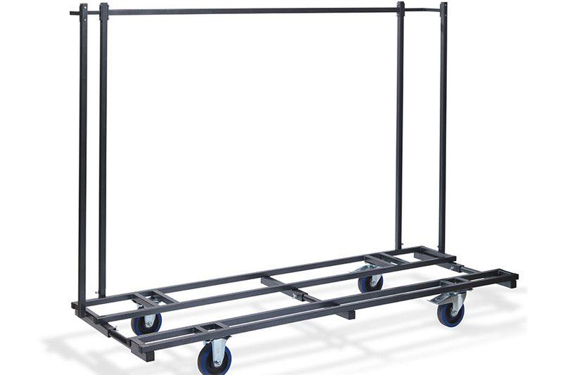 <BIG><B>Chariot de transport pour meubles de brasserie (ex 10 tables 20 bancs)</B></BIG>