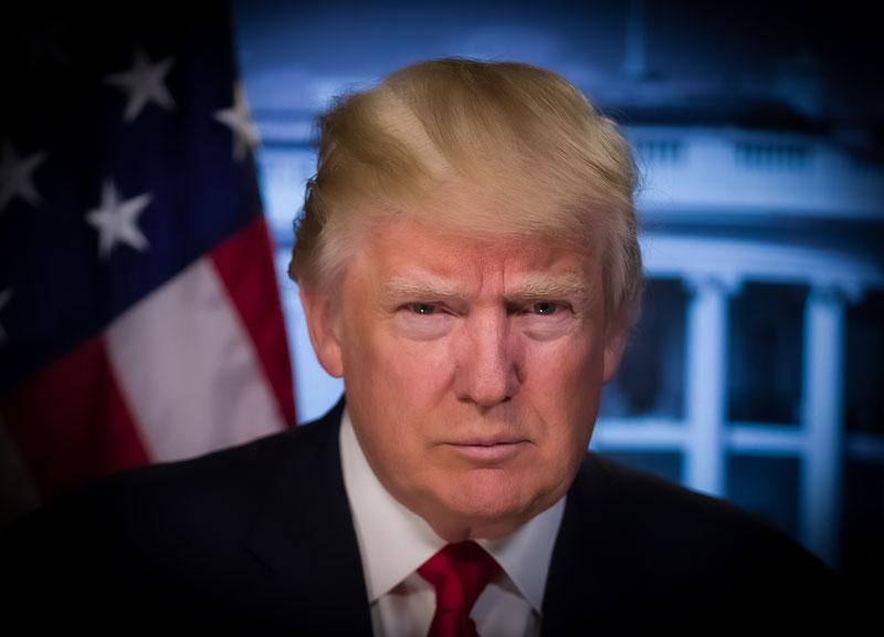 Tuinkast Trump