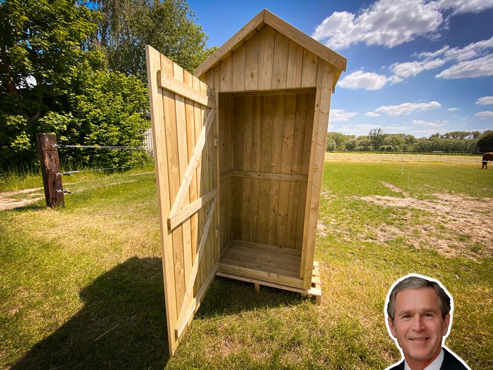 <BIG><B>Armoire de jardin - Bush-Junior (215 x 100 cm)</B></BIG>
