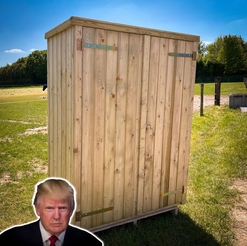 <BIG><B>Tuinkast Trump (190 x 139 cm)</B></BIG>