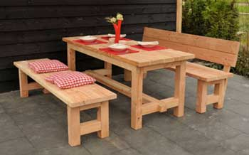 <BIG><B>Douglas table Tiemen non traité (200 cm)</B></BIG>