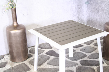 <BIG><B>Valenza Koffietafel met polywood blad</B></BIG>