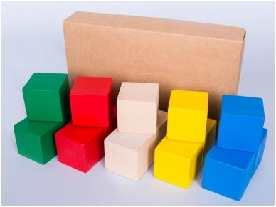 Vierkante bouwblokken