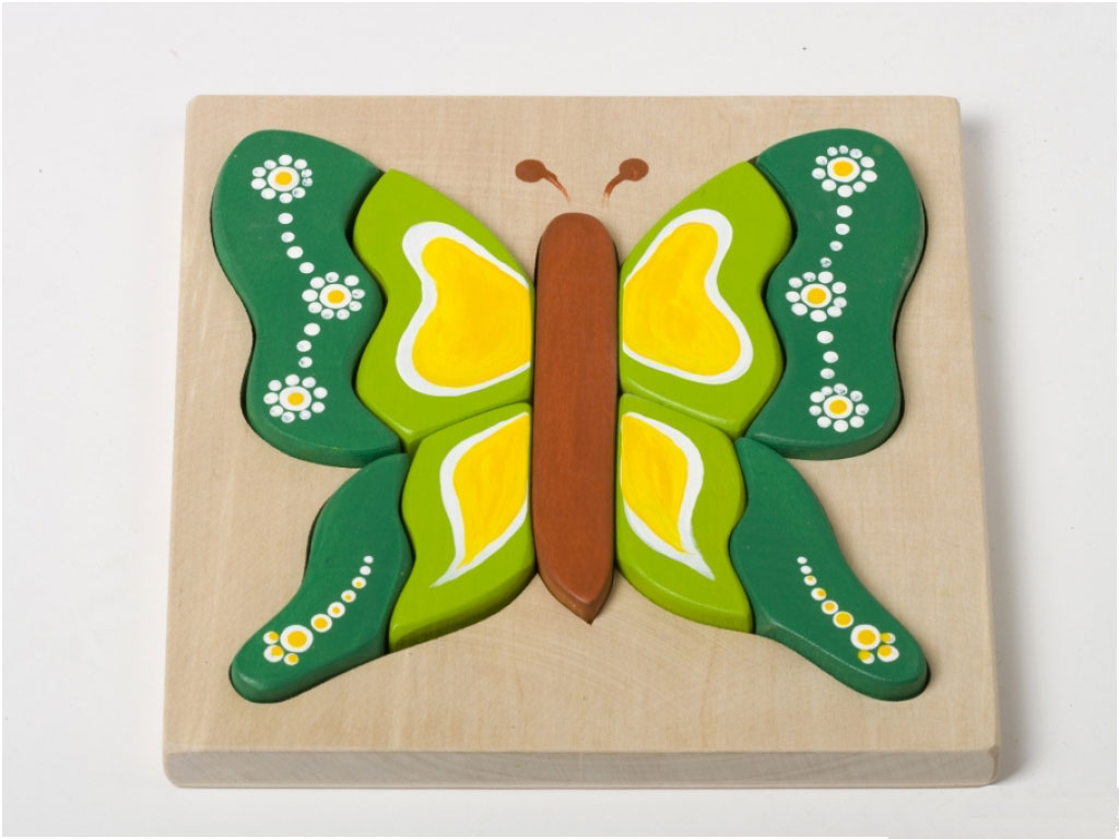 Vlinder-puzzel