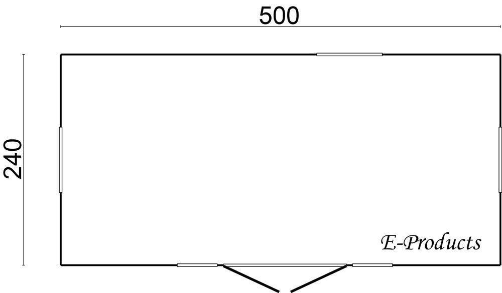 <BIG><B>Roulotte avec porte lat&eacute;rale</B></BIG>