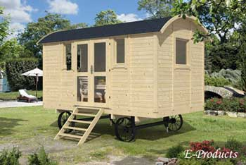 <BIG><B>Zigeunerwagen met zijdeur</B></BIG>